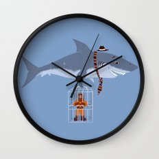 Brought My Lunch!  Wall Clock