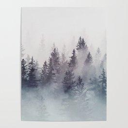 Winter Wonderland - Stormy weather Poster