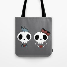 punk rawk couple Tote Bag