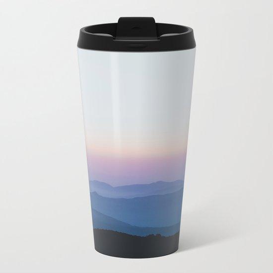 Sunset in the Annapurnas Metal Travel Mug