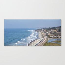 Pacific Coast Highway, California Canvas Print