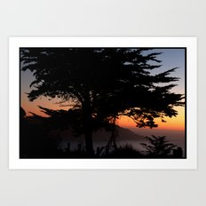 sf sunset 9.27.2010 Art Print