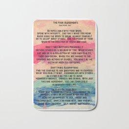 The Four Agreements 11 Bath Mat