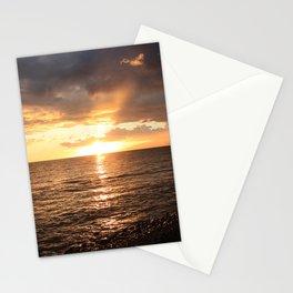 Good night sun! Stationery Cards