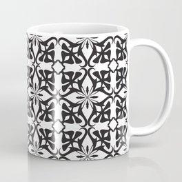 Ethnic tile pattern black Coffee Mug
