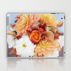 orange, yellow and white flowers Laptop & iPad Skin