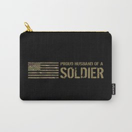 Proud Husband of a Soldier Carry-All Pouch