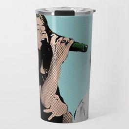 Pop Art Larry Stylinson  Travel Mug