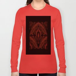 Abstract Tapestry Art. Sage. Long Sleeve T-shirt