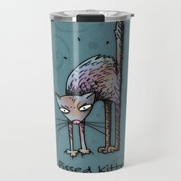 Pissed Kitty Travel Mug