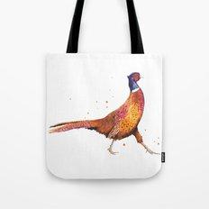 Pheasant, Christmas animals, Christmas, bird art Tote Bag
