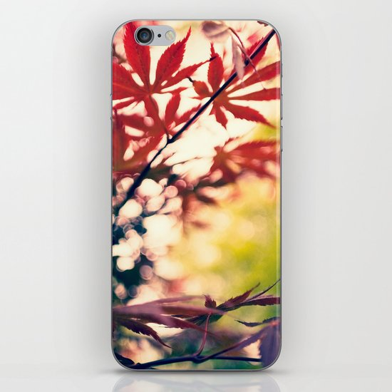 Cloudy With  A Chance of Maple iPhone & iPod Skin