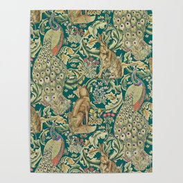 The Forest  William Morris Poster