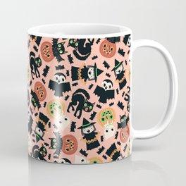 Halloween Gang Pink Coffee Mug