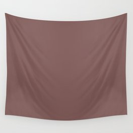 Mauve Purple Puce Trendy Fashion Solid Color Wall Tapestry