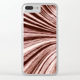 Antelope Canyon Upclose Clear iPhone Case
