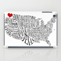 washington iPad Cases featuring Washington by Taylor Steiner