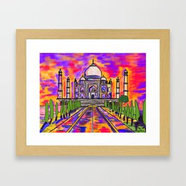 Wah Taj ! Framed Art Print