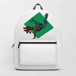 DJ Lucio groovin to the beat Backpack