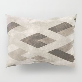 Abstract Pattern in Subtle Pillow Sham
