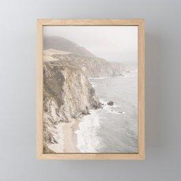 Big Sur California Framed Mini Art Print