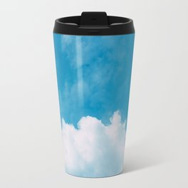 Clouds and Blue sky Travel Mug