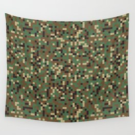 Modern military camouflage pattern 7 Wall Tapestry