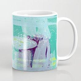 Teal Background Coffee Mug