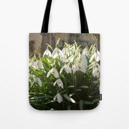 Snowdrops Tote Bag