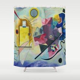 Wassily Kandinsky Geometric Composition Shower Curtain