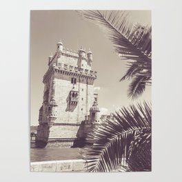 Tropical Castle Poster