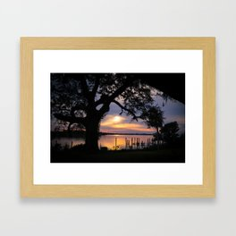 Through My Window Framed Art Print