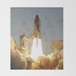 Space Shuttle Atlantis Throw Blanket