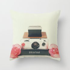 Polaroid Memories Throw Pillow