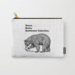 Bears, Beets, Battlestar Galactica Carry-All Pouch