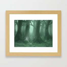 A Great Forest Framed Art Print