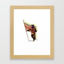Brit Wolf Framed Art Print