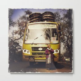Amala on the Road, 2015  Metal Print