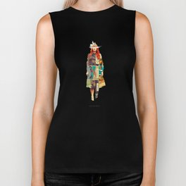 Until She Smiles Biker Tank
