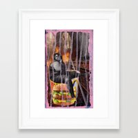 mac Framed Art Prints featuring Big Mac by Ibbanez