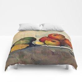 """Paul Cezanne """"Nature morte"""", c.1890 Comforters"""