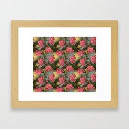 Vermeers Begonias Framed Art Print