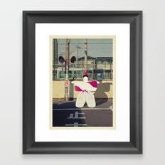 postcard from japan: kyoto#1 Framed Art Print