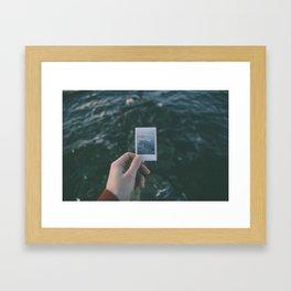 Nostalgie Un / Polaroid Framed Art Print