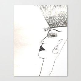 sweet hair Canvas Print