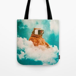 Living On The Cloud Tote Bag
