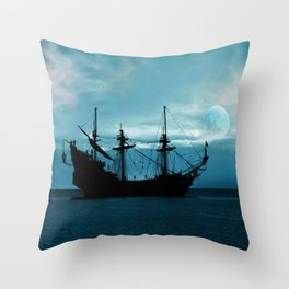 In The Still Of The Night ... By LadyShalene Throw Pillow