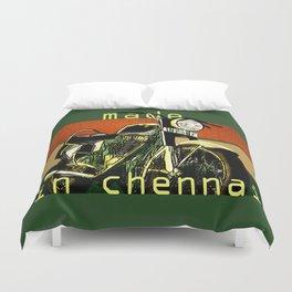 Royal Enfield - Made in Chennai Duvet Cover