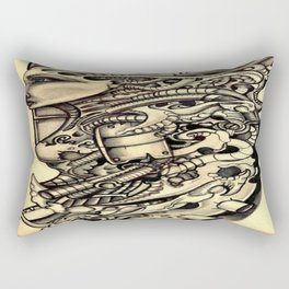BIOmech woman 2 Rectangular Pillow