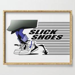 Slick Shoes (Alt 2) Serving Tray
